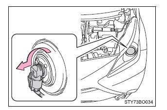 Toyota Aygo Lampen Vervangen Lampen Zelf Uit Te Voeren Onderhoud Onderhoud En Verzorging Toyota Aygo Instructieboekje